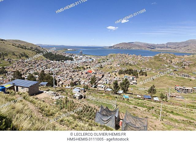 Perou, Province of Puno, Puno and Lake Titicaca