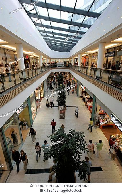 Shopping center in Bad Cannstatt, Stuttgart, Baden-Wuerttemberg, Germany