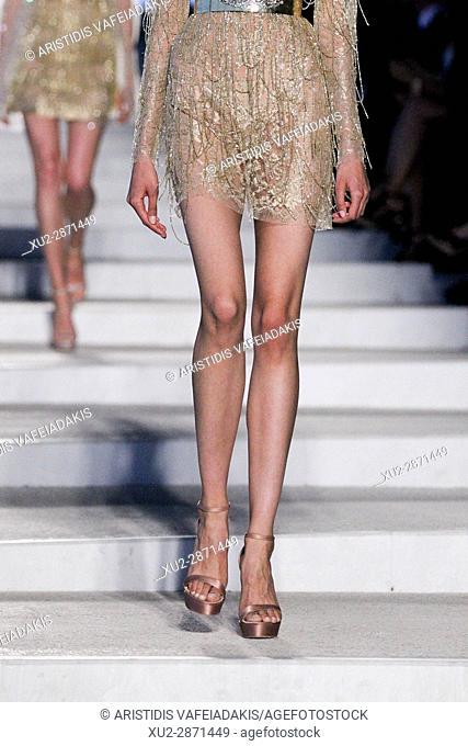 Fashion show of Celia Kritharioti in Athens Greece
