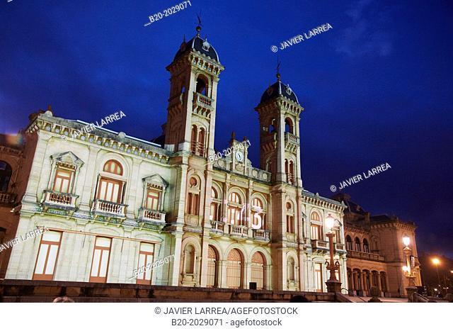 City Hall. Donostia. San Sebastian. Gipuzkoa. Basque Country. Spain