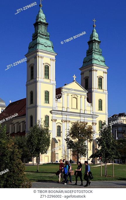 Hungary, Budapest, Inner Town Parish Church