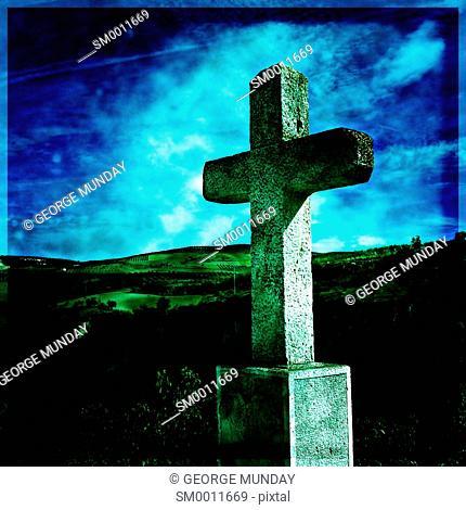 Cross beside the Ravine,