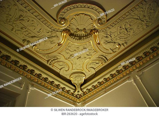 Rokoko stucco work in Ephraim Palais Nikolaiviertel Berlin Germany