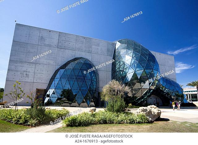 Dali Museum, St Petersburg city, Florida, USA