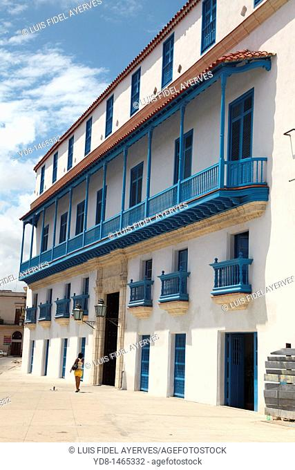 Typical of the period house in Old Havana, Cuba