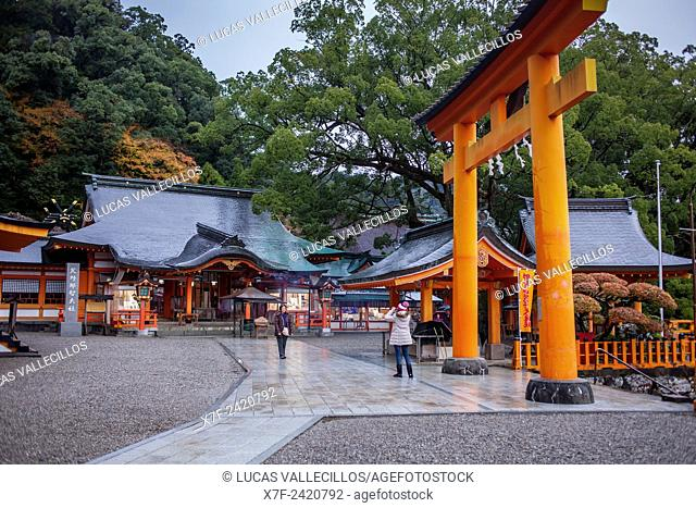 Kumano Nachi Taisha Grand Shire, Kumano Kodo, Nakahechi route, Wakayama, Kinki, Japan
