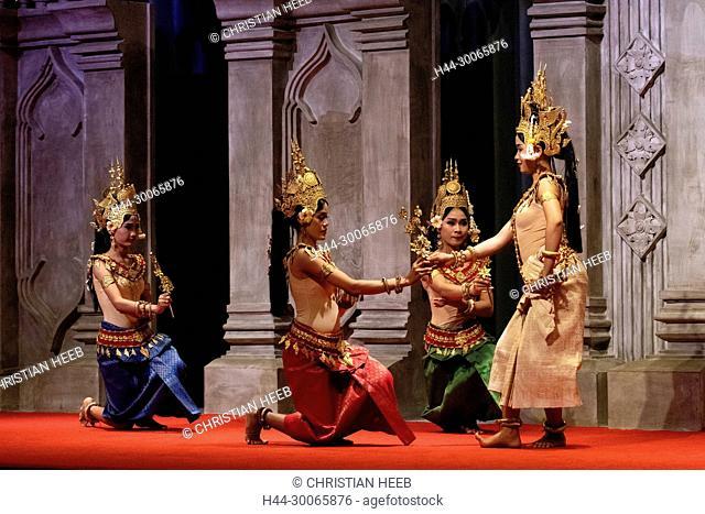Asia, Southeast Asia, Asian, Cambodia, Cambodian, Siem Reap, dance show