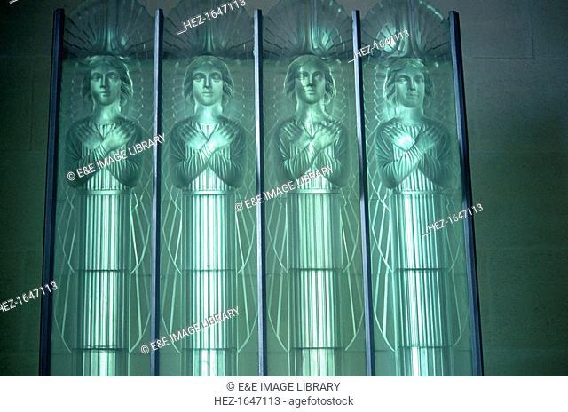 Lalique Glass, St Matthew's Church, Jersey