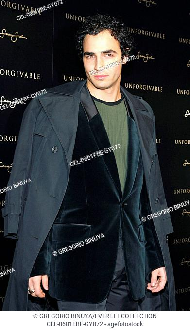 Zac Posen at arrivals for Sean Diddy Combs Unforgivable Estee Lauder Fragrance Launch, Core Club, New York, NY, February 01, 2006