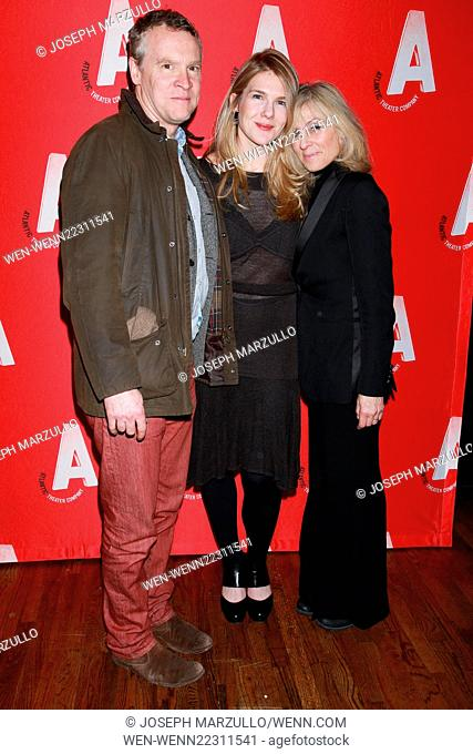 Opening night party for the Atlantic Theater Company production Posterity, held at Moran's restaurant - Arrivals. Featuring: Tate Donovan, Lily Rabe