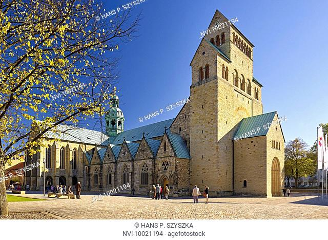 Cathedral of St. Mary in Hildesheim, Lower Saxony, Germany