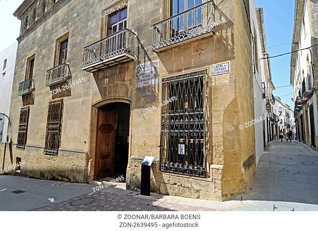 Archaeological and Ethnographic Museum, Javea, Valencia, Spain, Europe, Museo Arqueologico y Etnografico, Soler Blascoy, archäologisches und ethnografisches...