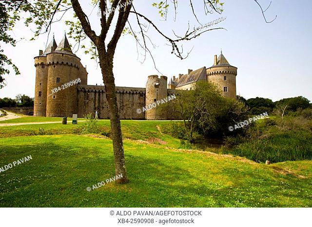 Suscinio castle, Brittany, France