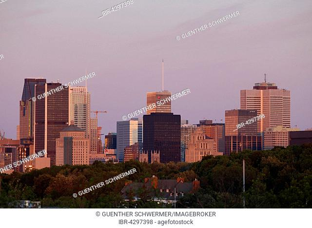 Skyline, Montreal, Quebec Province, Canada