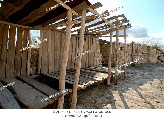 Çufut Qale, Chufut-Kale Jewish Fortress, cave city  Crimea, Ukraine, Eastern Europe
