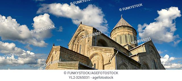 Pictures & images of the Eastern Orthodox Georgian Svetitskhoveli Cathedral (Cathedral of the Living Pillar) , Mtskheta, Georgia (country)