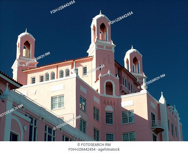 St. Petersburg, FL, Florida, Tampa Bay, St. Pete Beach, Gulf Coast Beaches, Don Cesar Resort and Spa ca. 1920
