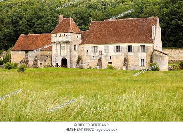 France, Indre et Loire, Chemille sur Indrois, Corroirie du Liget Charterhouse