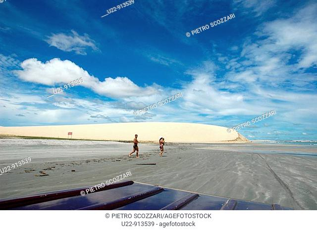 Jericoacoara (Ceara, Brazil): the main dune