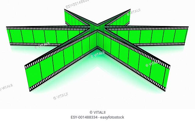 3d blank films star