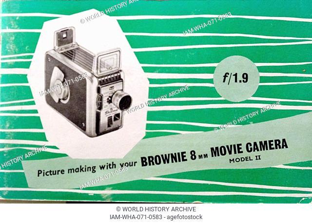 Advertisement kodak camera Stock Photos and Images | age