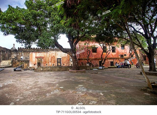 Africa, Kenya, Mombasa, the old city, Fort Jesus