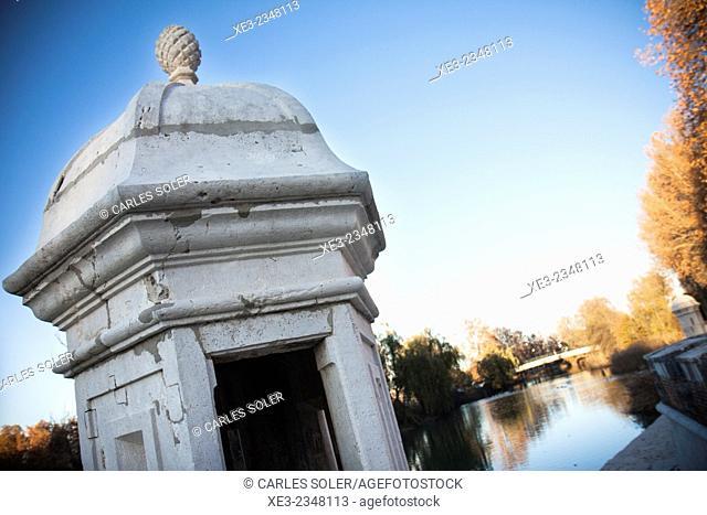 Embarcadero en Jardín del Príncipe, Aranjuez