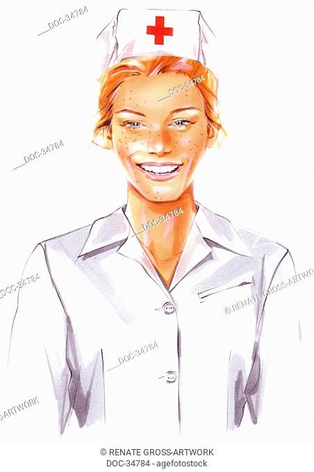 Nurse with a smile