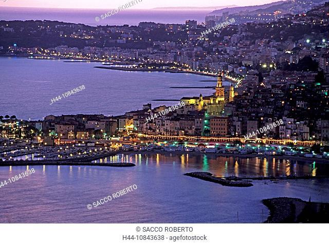 France, Europe, Menton, Cap Martin, Monaco, Alpes-Maritimes, Cote d'Azur, Mediterranean sea, Coast, Europe, Cap Martin