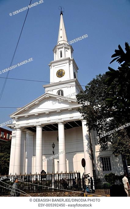 Saint andrews church , Calcutta Kolkata , West Bengal , India