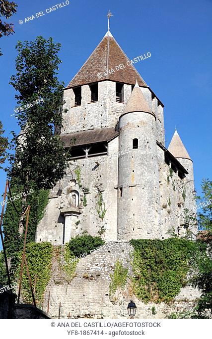 France, Paris region, Seine et Marne, Provins medieval city, tour Caesar,Cesar tower