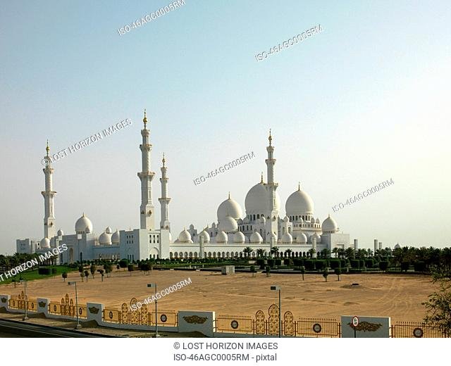 Grand Mosque with domes and towers