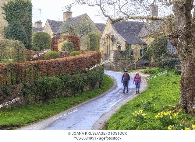 Upper Slaughter, Cotswold, Gloucestershire, England, UK