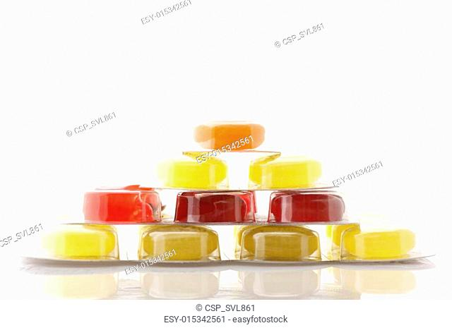 Colorful lozenges