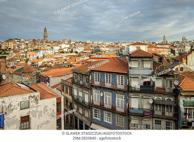 Autumn morning in Port old town, Portugal