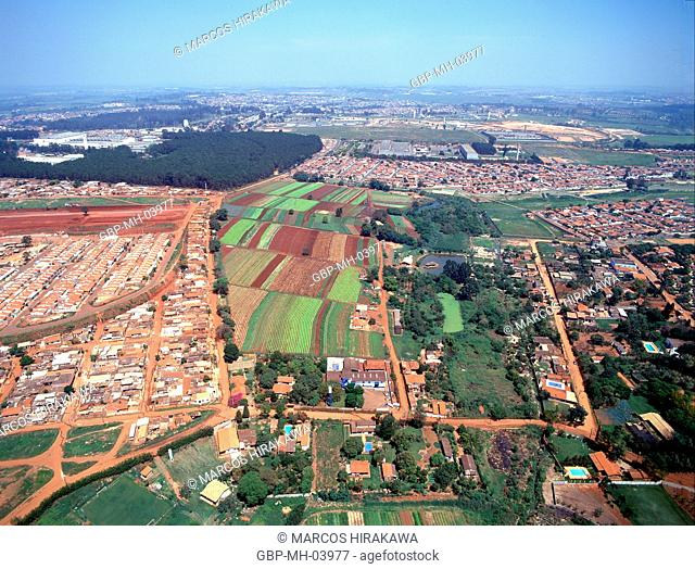 Aerial view; Hortolândia; Sao Paulo; Brazil
