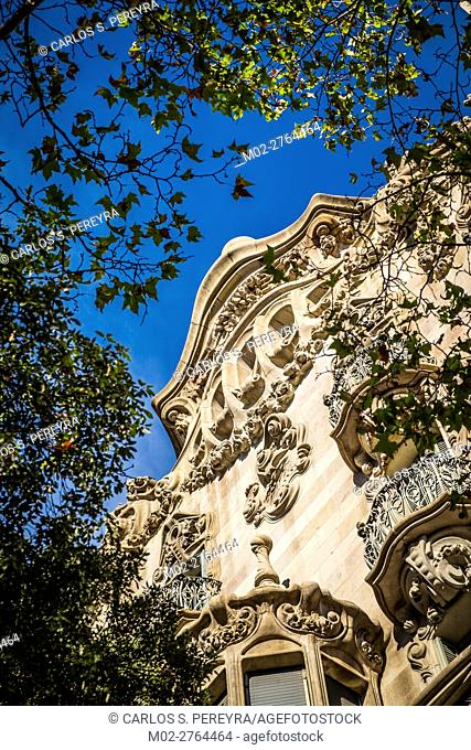 Casa Comalat by Salvador Valeri i Pupurrull in Barcelona Catalonia Spain