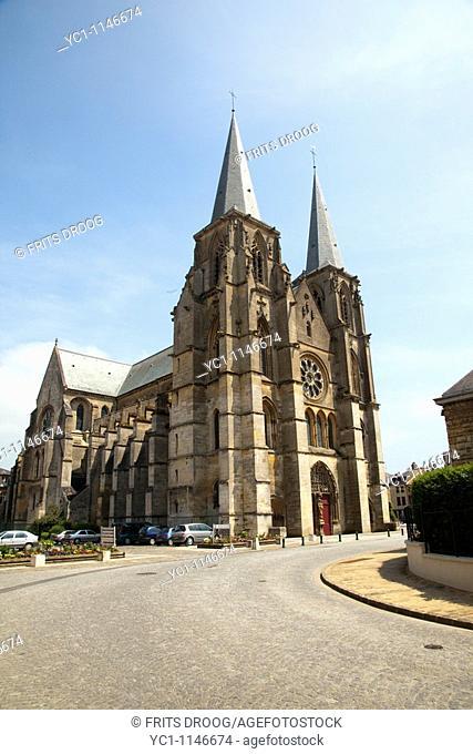 Abbatiale Notre-Dame-de-Mouzon, Mouzon, France