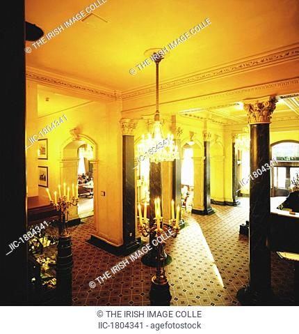 Dublin Historical Buildings, The Shelbourne Hotel, Editorial Use Only