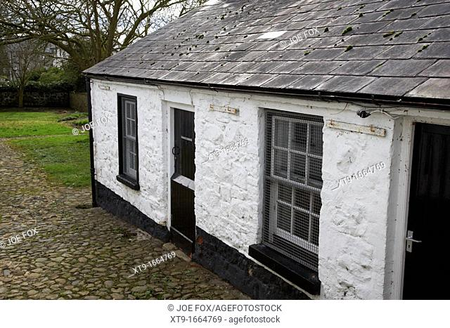 pogues entry historical cottage county antrim northern ireland uk