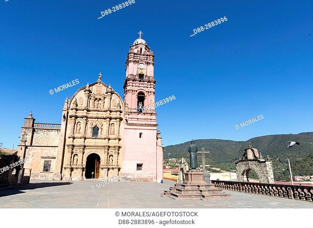 Central America, Mexico, State of Michoacan, Tlalpujahua de Rayón, Sanctuary of the Virgen del Carmen