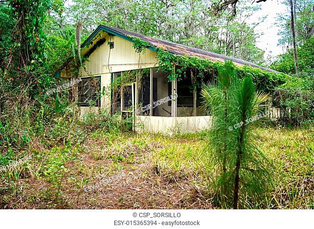 old florida abandoned house