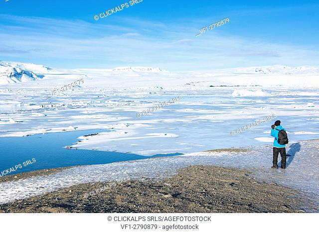 Jokulsarlon glacier lagoon, Eastern Iceland