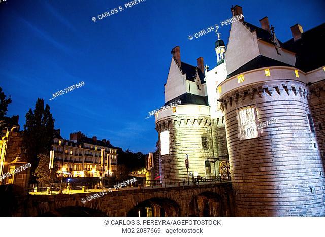 Chateau des Ducs de Bretagne, fortress, castle, museum, Nantes, Pays de la Loire, France, Europe