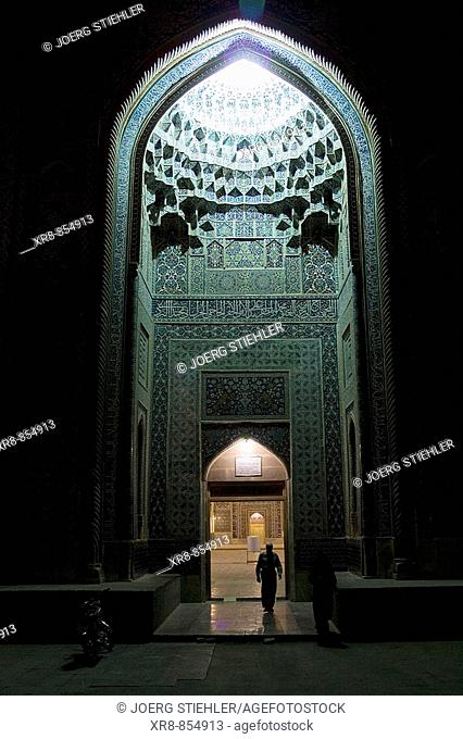 Iran Kerman Friday Mosque Main Entrance