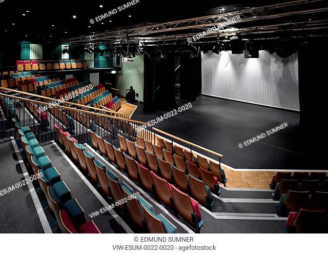 Brampton Manor School, Edward Cullinan Architects ,London, 2011-theatre, EDWARD CULLINAN ARCHITECTS, UNITED KINGDOM, Architect