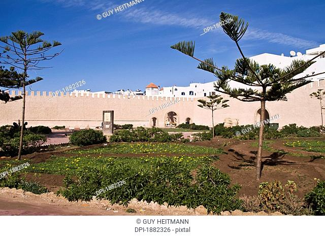 outside the medina, essaouira, morocco