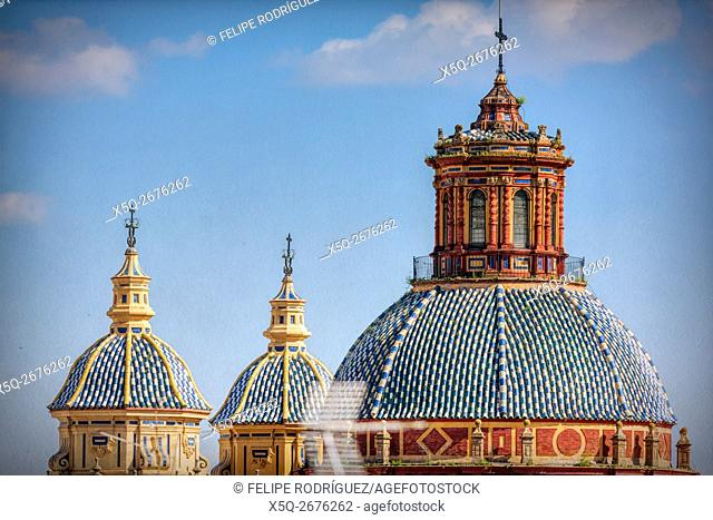 Dome of San Luis de los Franceses church, Seville, Spain