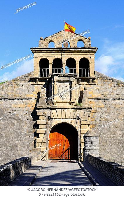Ciudadela de Jaca. Huesca province. Aragón. Spain