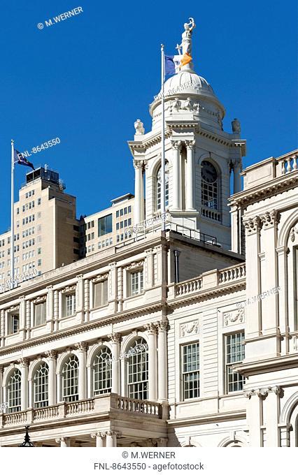 City Hall, Manhattan, New York, USA